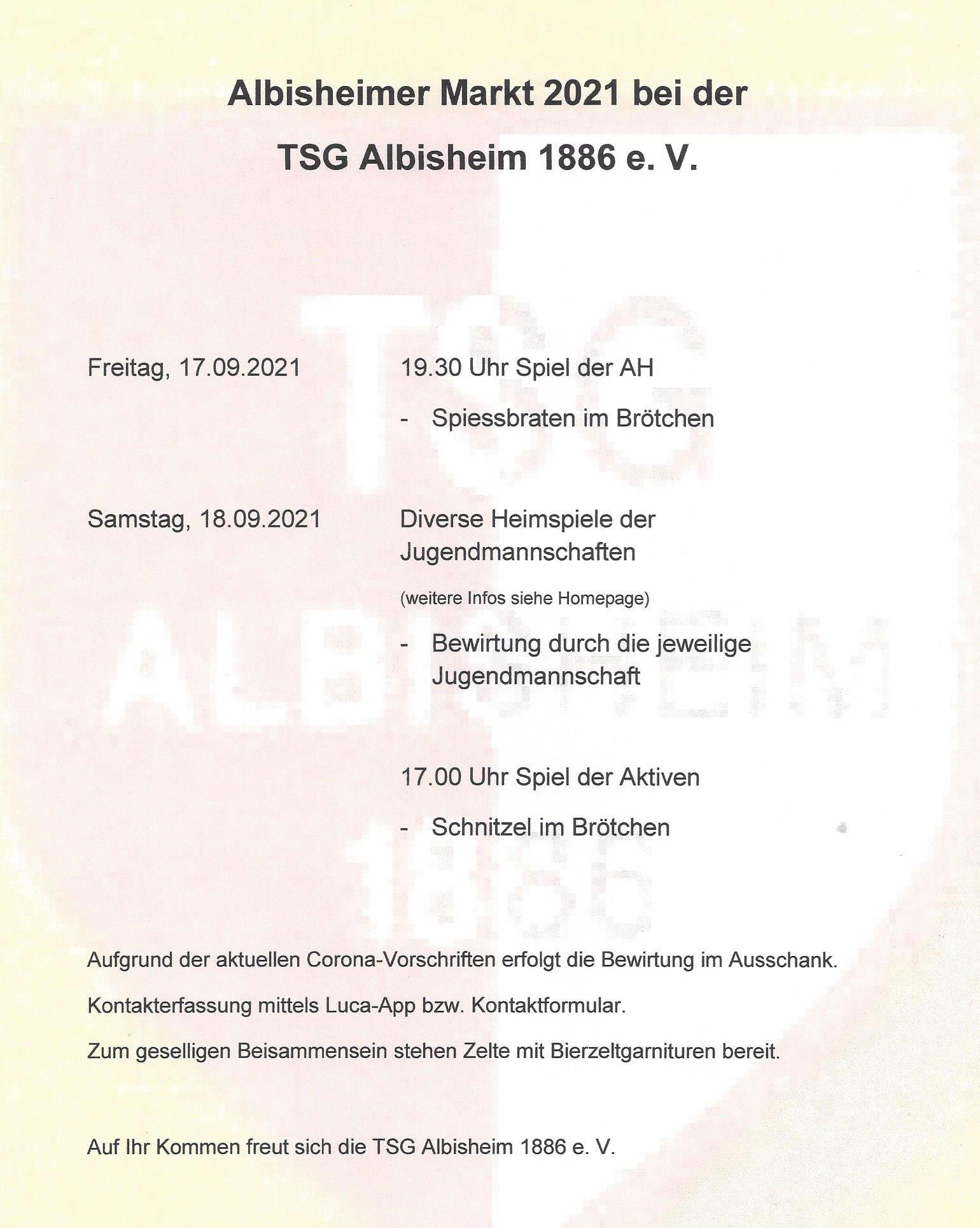 Programm des Sportverein